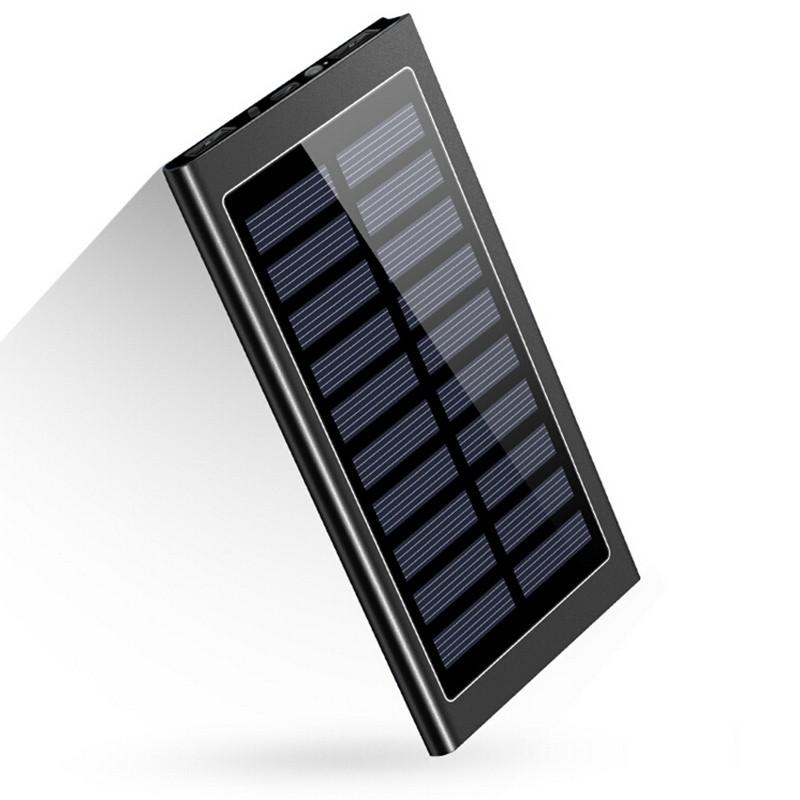 Pin dự phòng siêu mỏng 8.000 MAh hỗ trợ sạc bằng năng lượng mặt trời