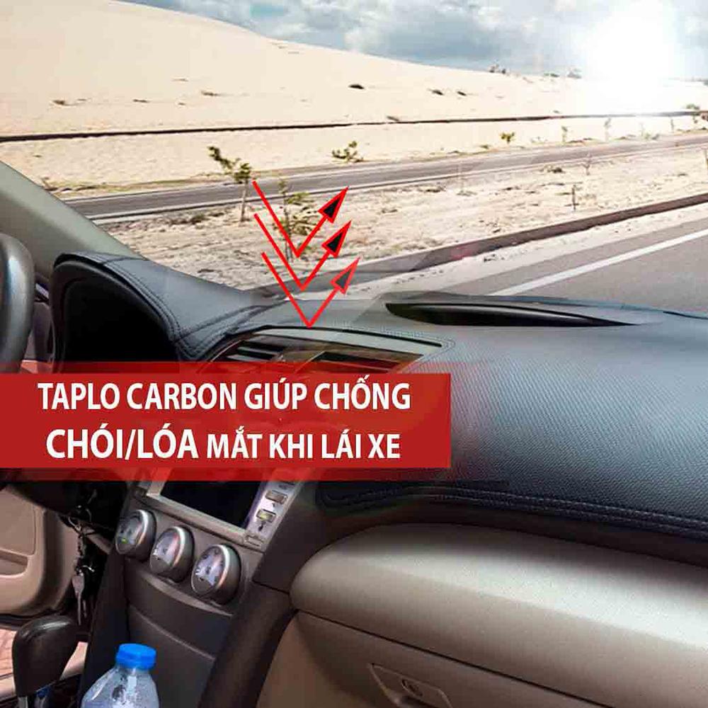 Thảm Taplo vân Carbon Cao Cấp Dành Cho xe VINFAST FADIL