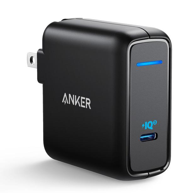 Adapter Sạc 1 Cổng USB Type-C Anker PowerPort Atom III 60W - A2613 - Hàng Chính Hãng