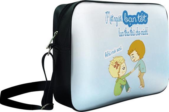 Túi Đeo Chéo Hộp Unisex Một Người Bạn Tốt - TCFU341 34 x 9 x 25 cm