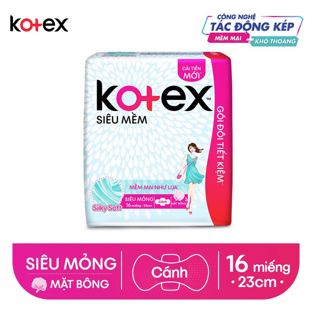 Bvs Kotex Supersoft 16 miếng