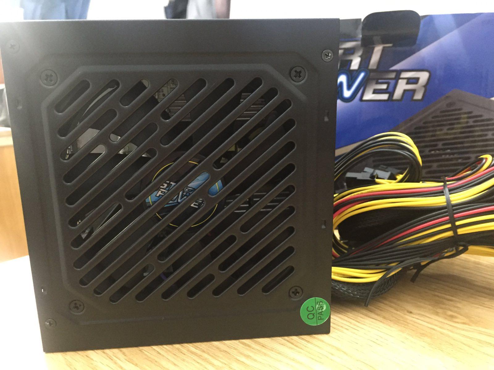Nguồn Máy Tính Start Power 500W - Fan 120mm - Chống Ồn - 80 Plus