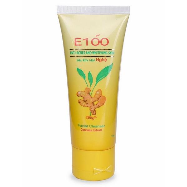 Sữa Rửa Mặt Tinh Chất Nghệ E100 (50g)