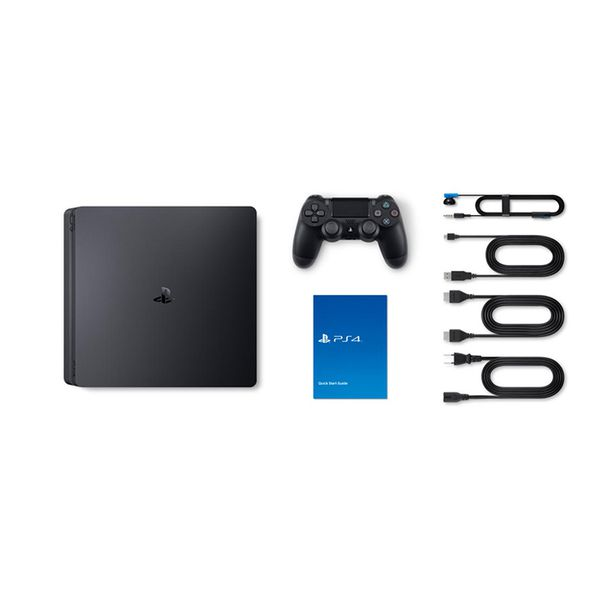 Bộ Playstation 4 Slim ( 500gb) Model 2218A Kèm 2 Đĩa Game Sekiro Và godofwar 4 - Chính Hãng