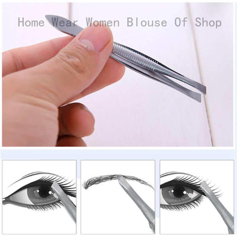 Nhíp nhổ lông mày chuyên dụng KAI Nhật Bản an toàn không đau khi nhổ (1 cái) + tặng 2 zipper 10cm