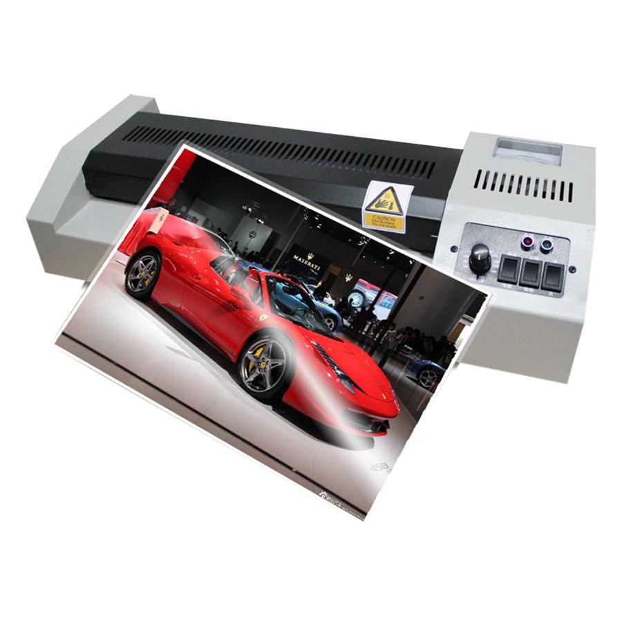 Máy Ép Nhựa Plastic Media Ink MD320 Khổ A3 (Ép Nhiệt, Ép Nguội) - Hàng chính hãng