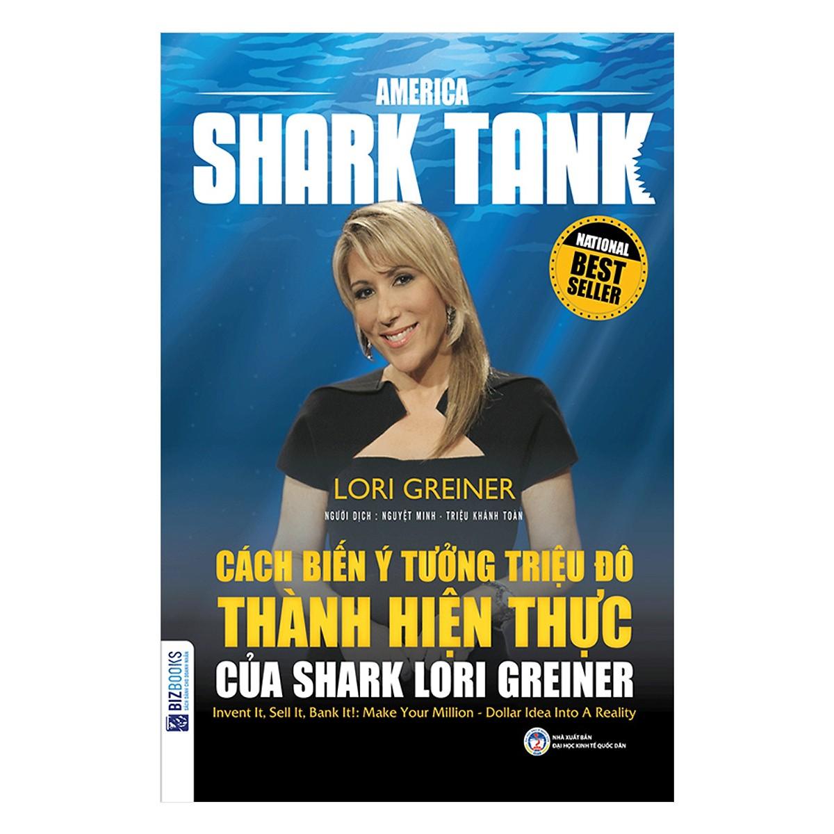 Combo 4 Cuốn Huấn Luyện Kinh Doanh Cùng America Shark Tank(Tặng kèm bút chì Kingbooks)