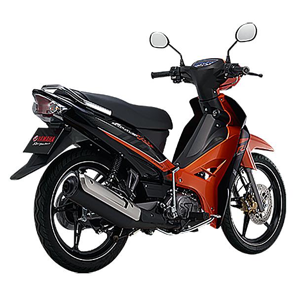 Xe Máy Yamaha Sirius Vành Đúc - Da cam