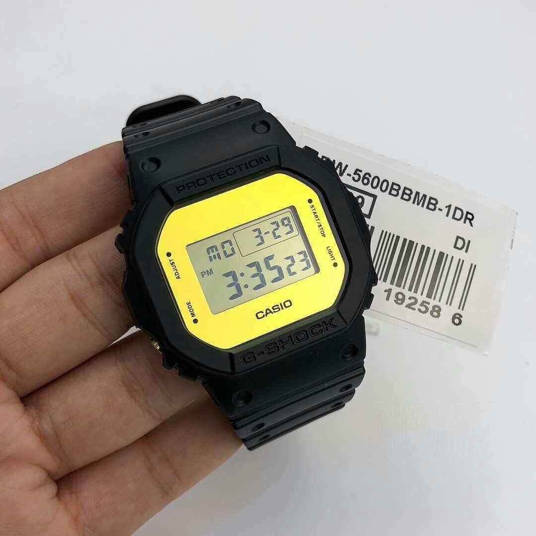 Đồng hồ nam dây nhựa Casio G-SHOCK DW-5600BBMB-1DR