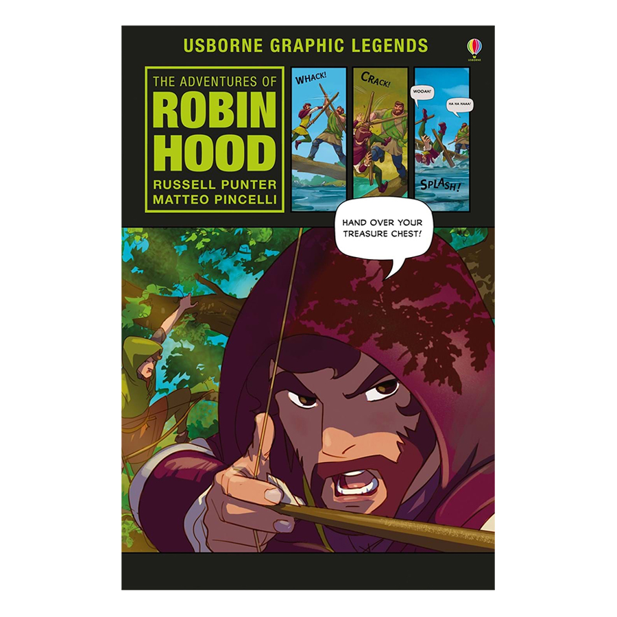 Usborne The Adventures of Robin Hood