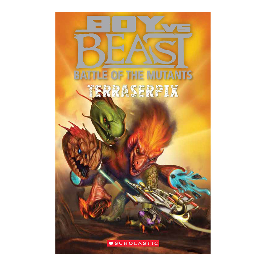 Boy Vs. Beast #9: Terraserpix