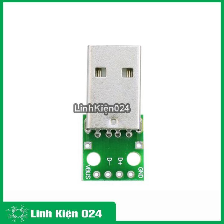 Bo Chuyển USB-4P TO 2.54mil DIP
