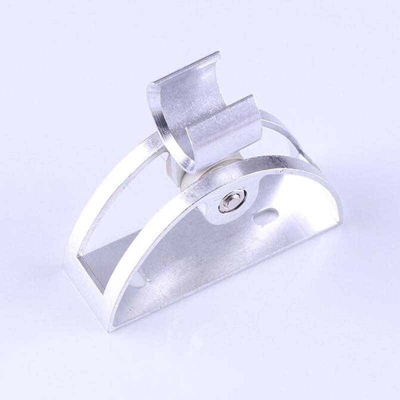 Đế cài, giá treo vòi sen tắm, vòi xịt hợp kim nhôm hình bán nguyệt – Có thể điều chỉnh độ cao (Màu Ngẫu Nhiên)