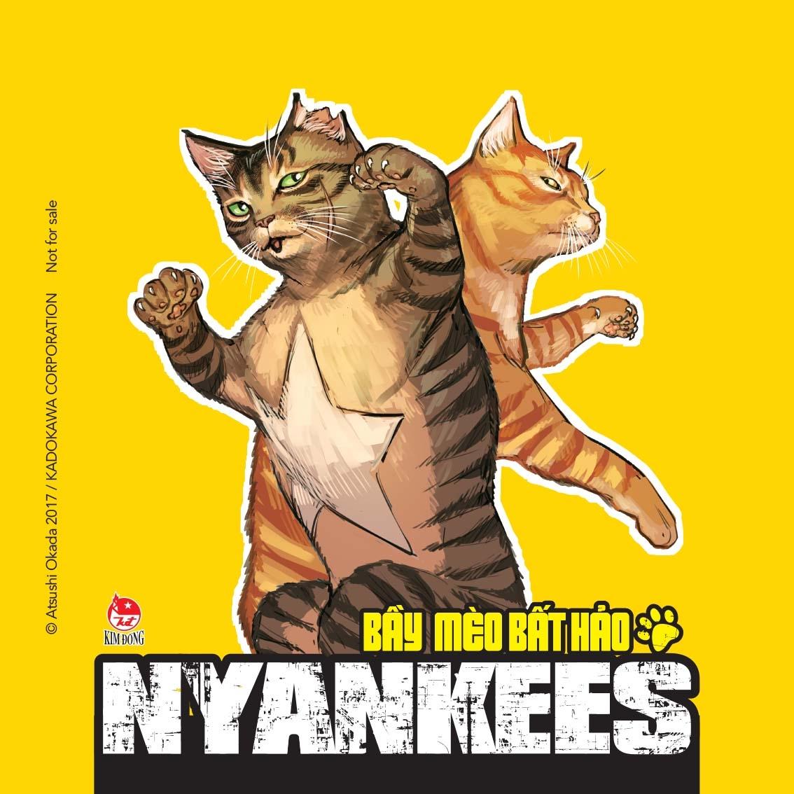 Nyankees - Bầy Mèo Bất Hảo - Tập 2 - Tặng Kèm Lót Ly