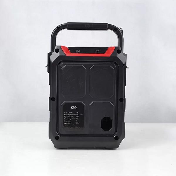 Loa Di Động Hát Karaoke Bluetooth Kiêm Trợ Giảng K99 Kiểu Dáng Sang Trọng - Hàng Nhập Khẩu