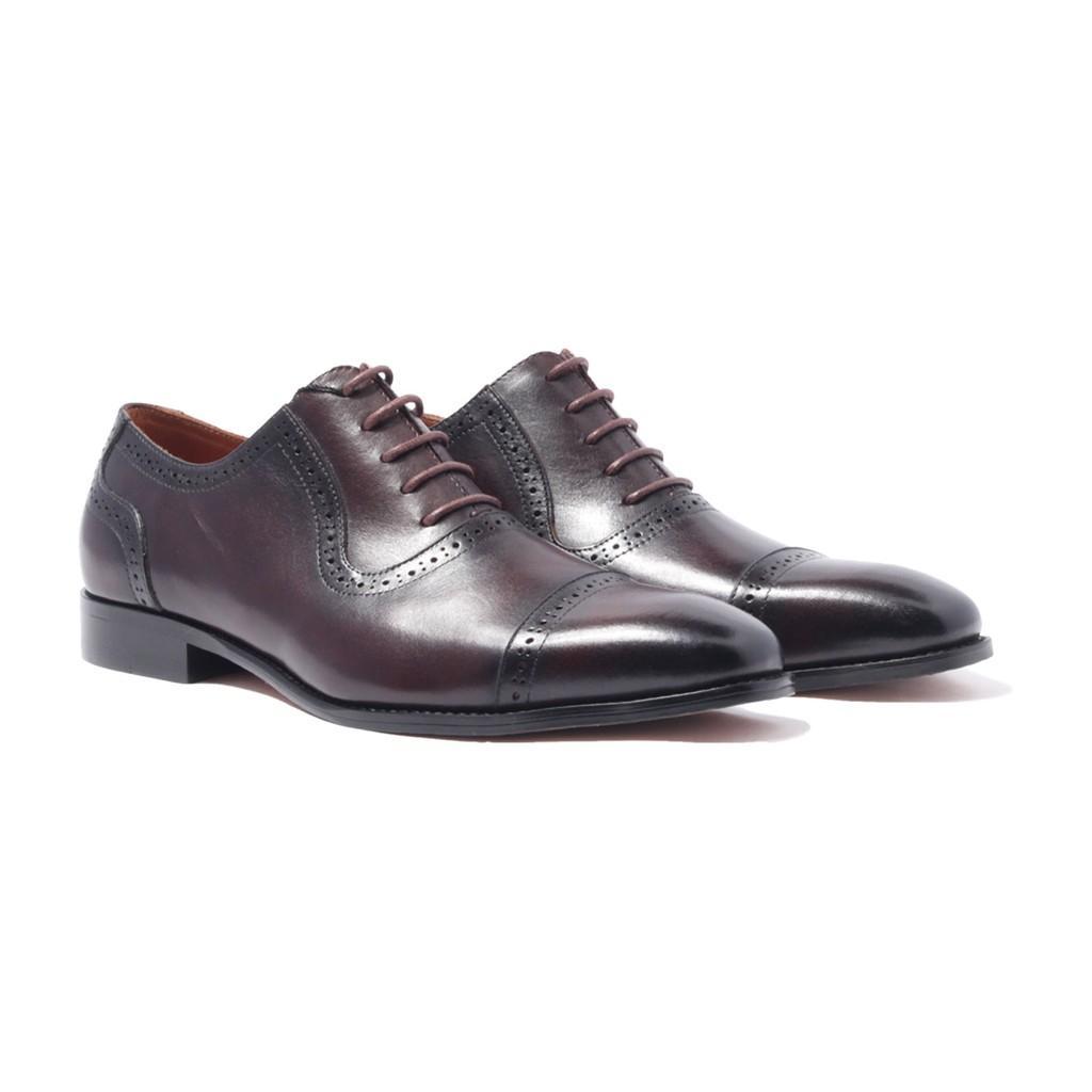 Giày Tây Nam Cao Cấp Oxford  Banuli H1CO2M1 - Da Bò Nhập Khẩu