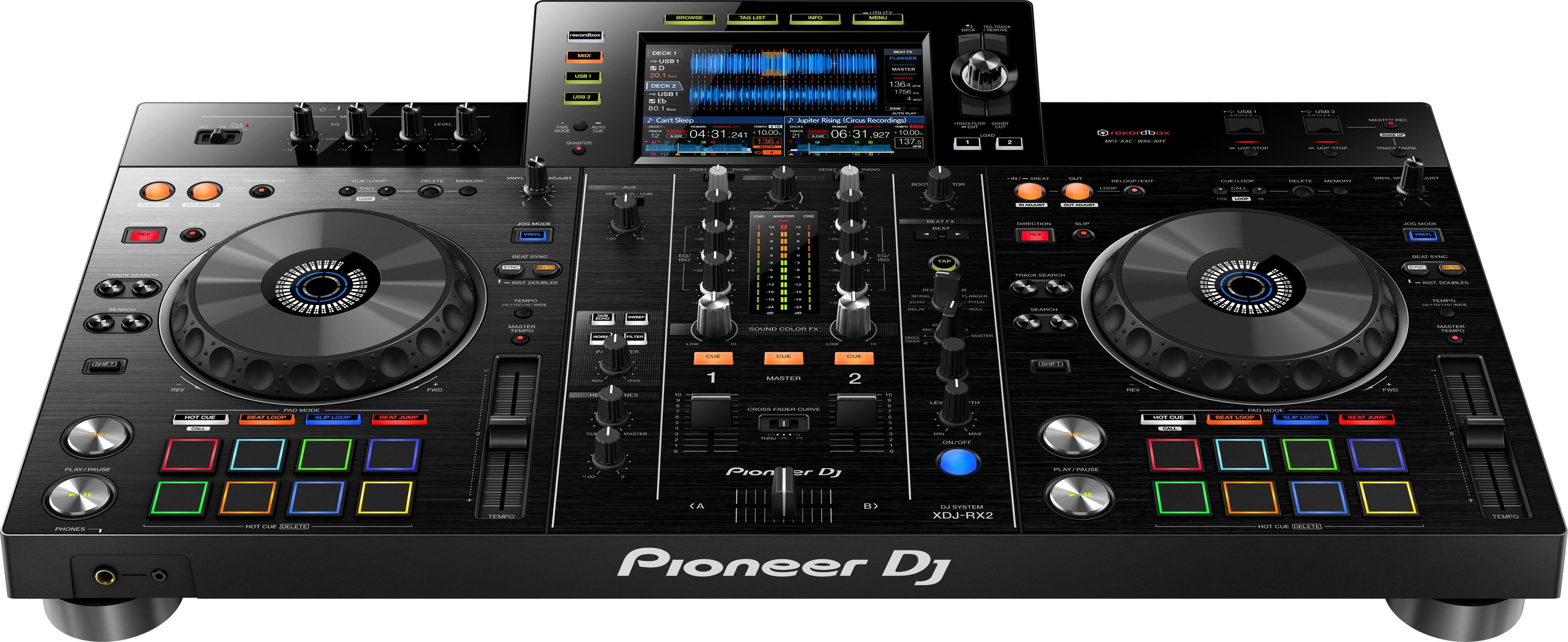 Máy DJ All In One System XDJ–RX2 (Pioneer DJ) - Hàng Chính Hãng