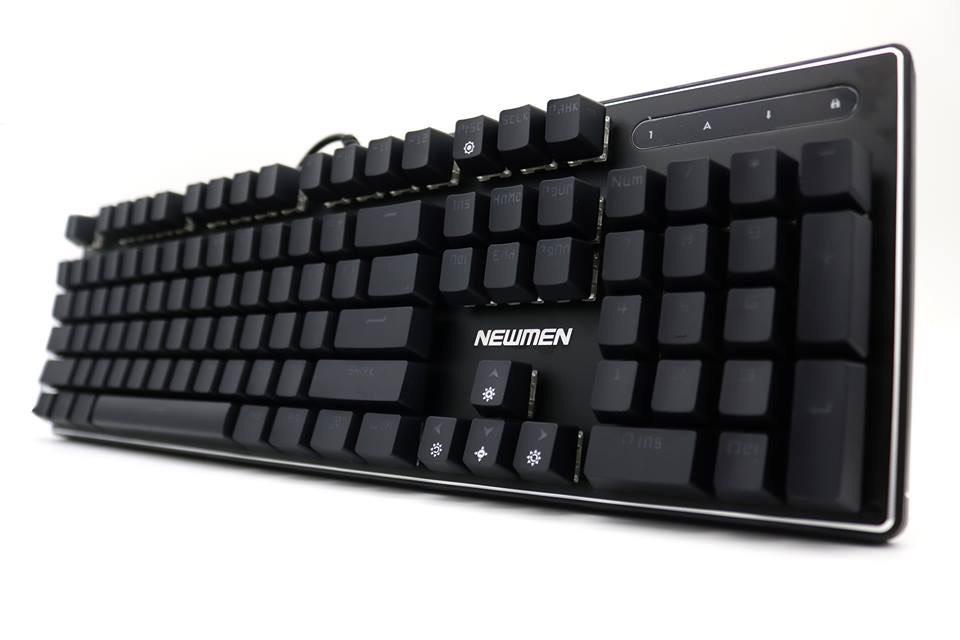 Bàn phím co Newmen có dây GM310 Black _ Hàng chính hãng