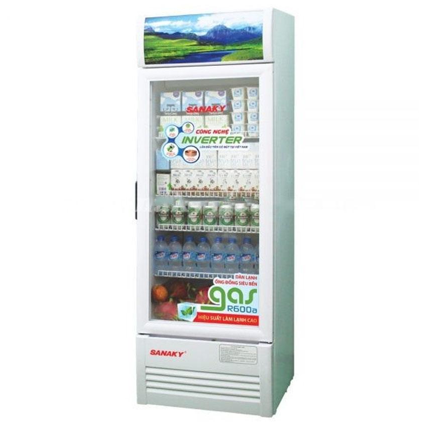 TỦ MÁT SANAKY INVERTER 200 LÍT VH-258K3L NHÔM (LOW-E) (R600A) - hàng chính hãng