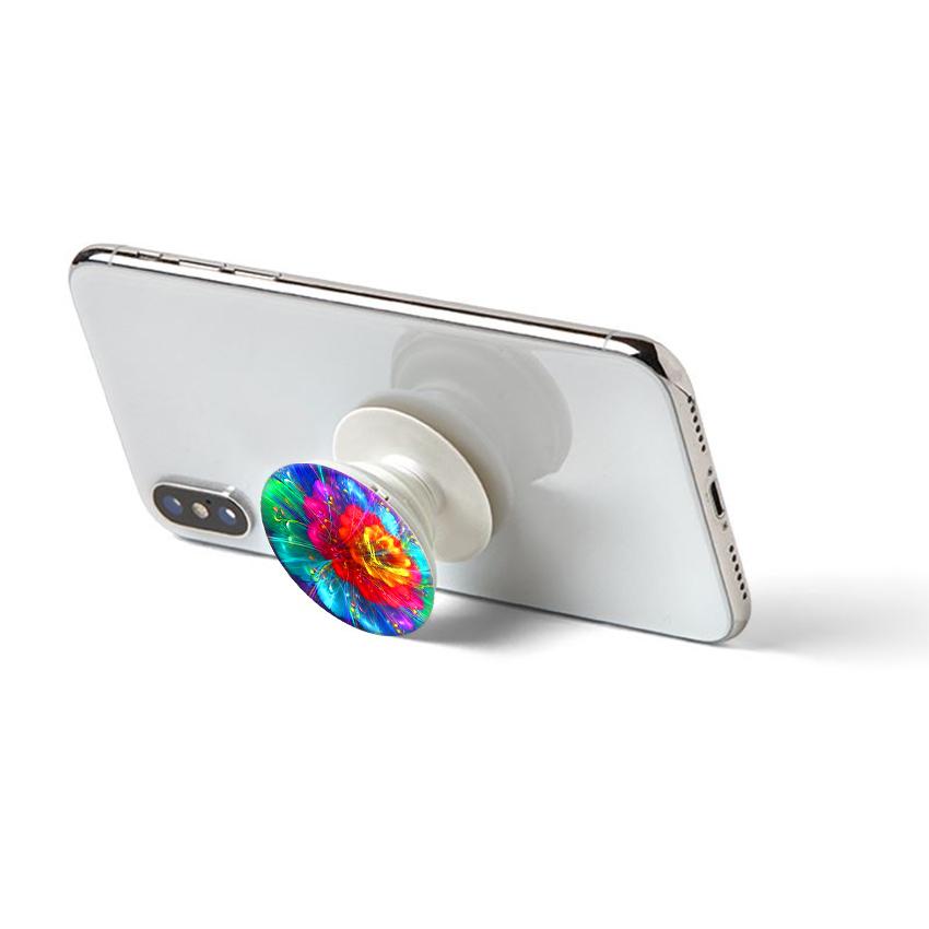 Gía đỡ điện thoại đa năng, tiện lợi - Popsockets - In hình FLOWER 17 - Hàng Chính Hãng