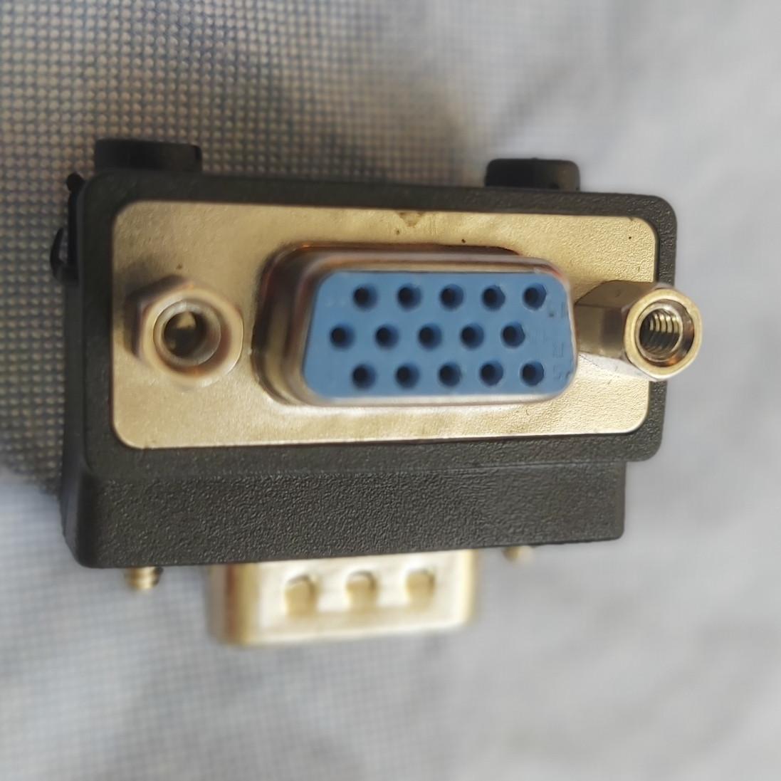 Đầu chuyển vga gốc 90 độ hỗ trợ FullHD