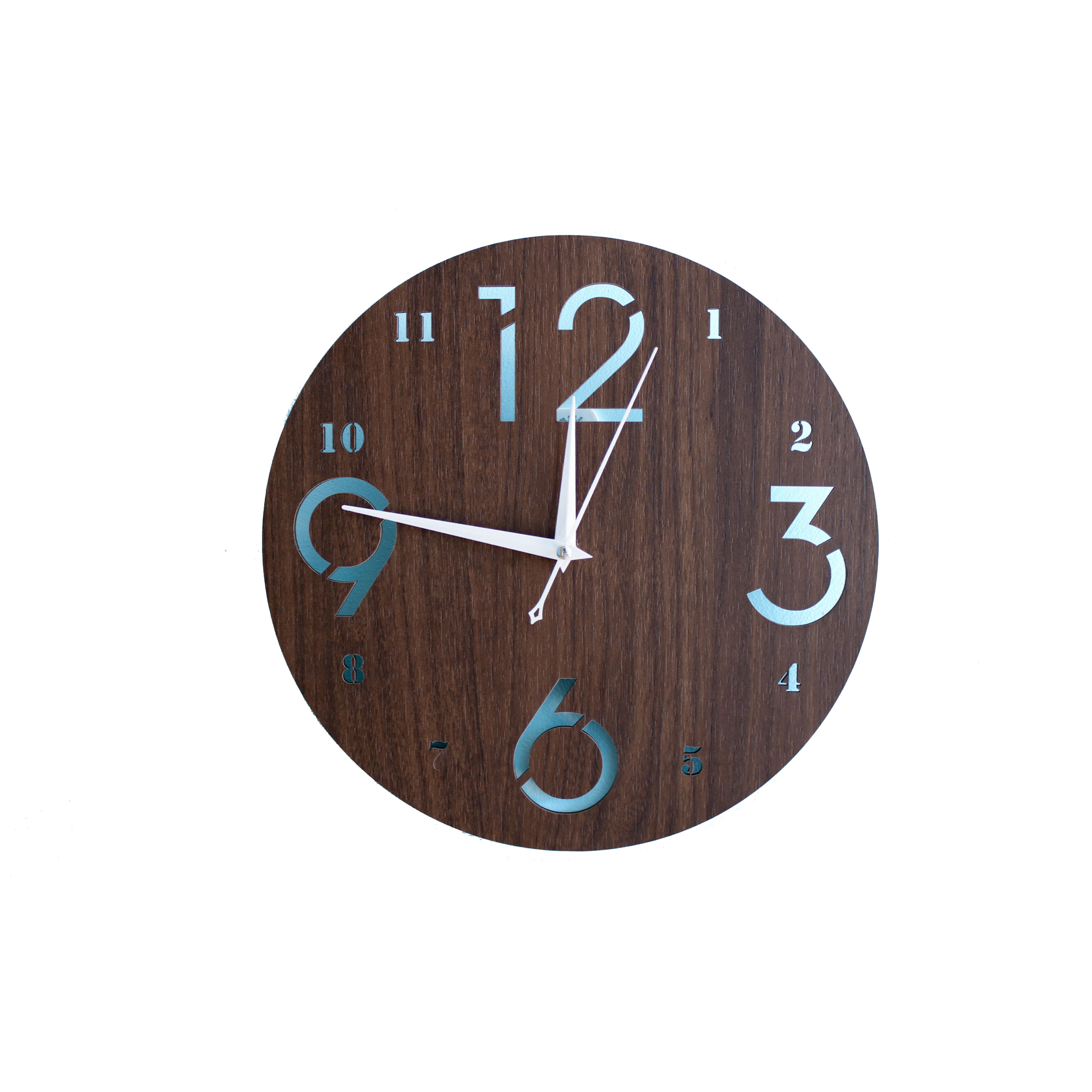 Đồng hồ treo tường mặt gỗ Acescor DHG02- Nội Thất Sang Trọng, Trang Trí Nhà Cửa, Quán Cà Phê, Homestay