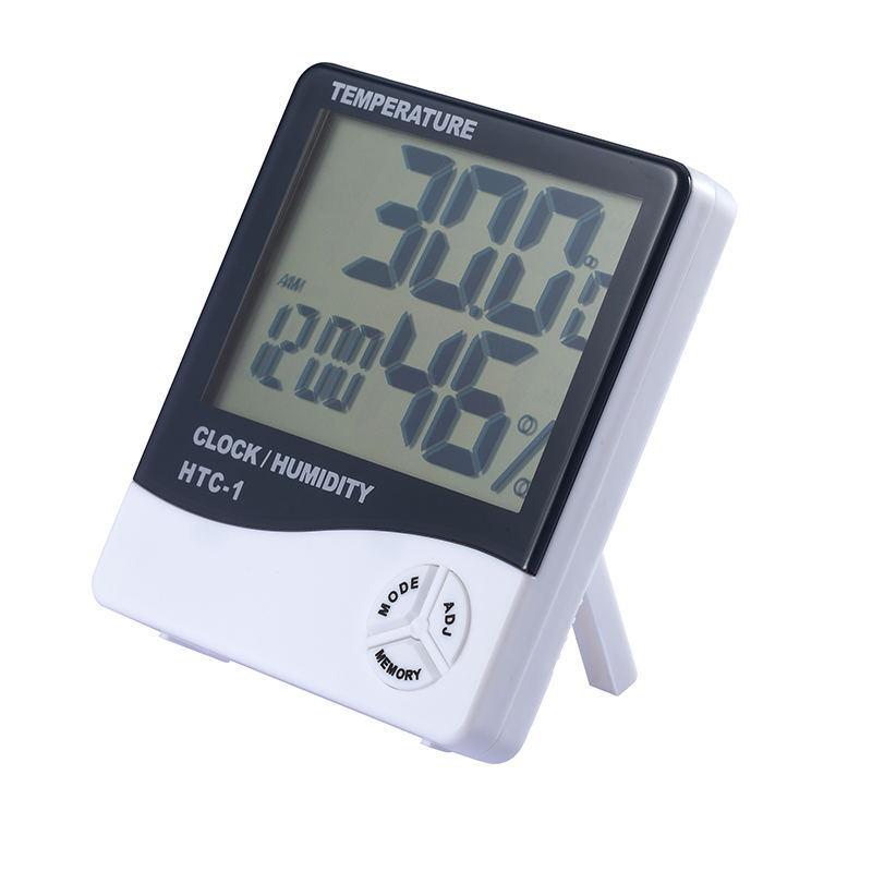 Đồng hồ nhiệt kế để bàn cao cấp