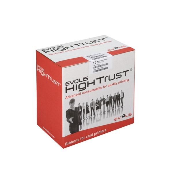 Ruy băng mực màu YMCKO cho máy in thẻ nhựa Primacy - Hàng nhập khẩu