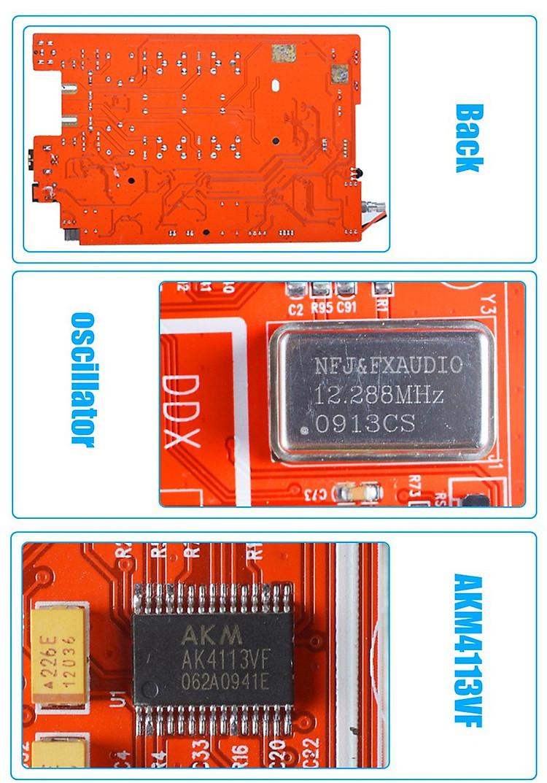 Bộ giải mã âm thanh DAC FX-AUDIO D802C PRO Hỗ Trợ AptX NFC Bluetooth 4.2