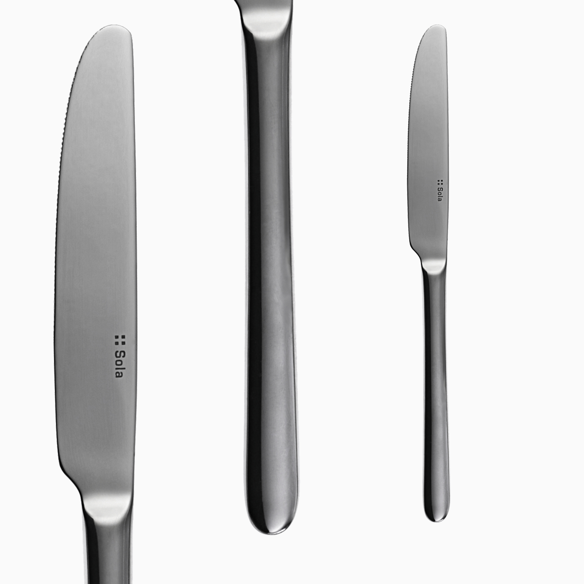 Bộ 6c Dao ăn Inox 304 (Set of 6pcs Table knife SS18/10) 106152