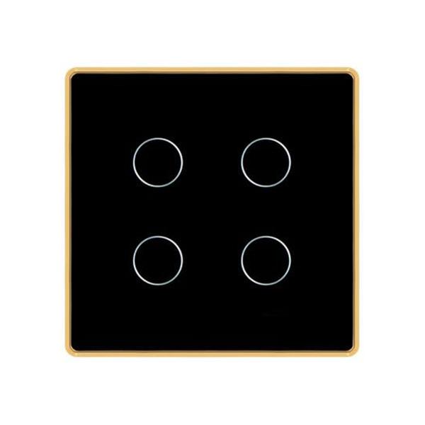 HTV Smart - Công tắc cảm ứng vuông 4 nút
