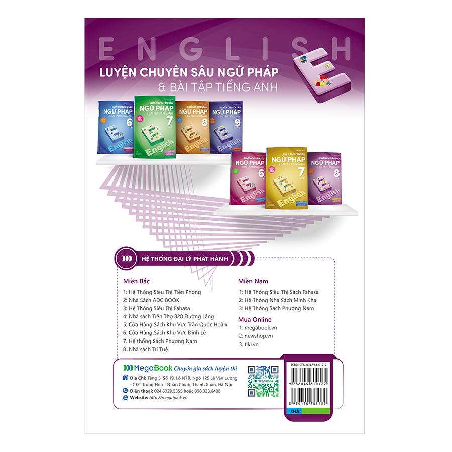 Luyện Chuyên Sâu Ngữ Pháp Và Bài Tập Tiếng Anh 8 Tập 2 (Chương Trình Mới)