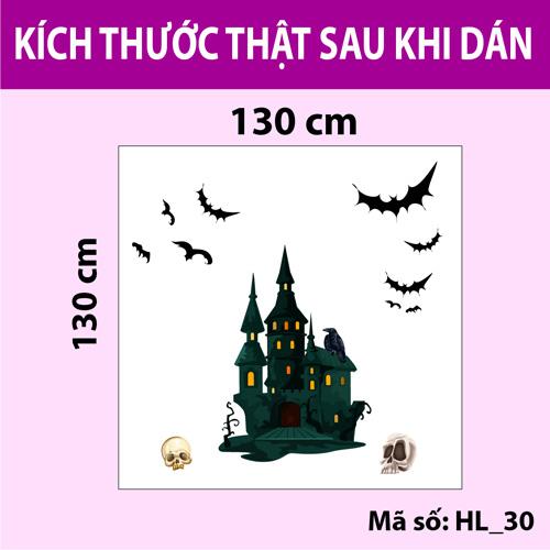 Trang trí Halloween 2020 lâu đài ma quái