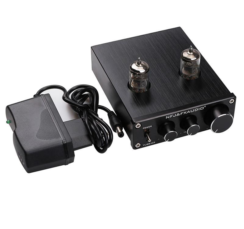 Preampli FX Audio TUBE-03 6J1 Preamplifier Đèn, Chỉnh Bass-Treble AZONE