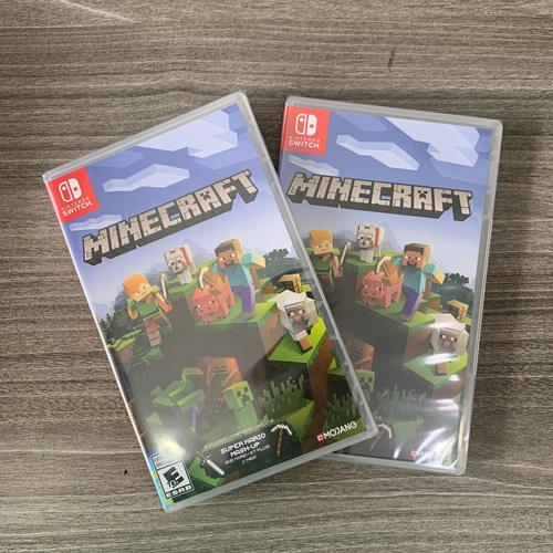 """Game Nintendo """" Minecraft """" New Seal >> Hàng Nhập Khẩu"""