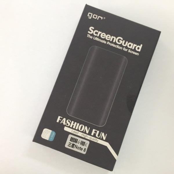 Bộ 4 miếng Dán Dẻo Gor Cho Galaxy Note 8 (dán Full màn hình) - Hàng nhập khẩu