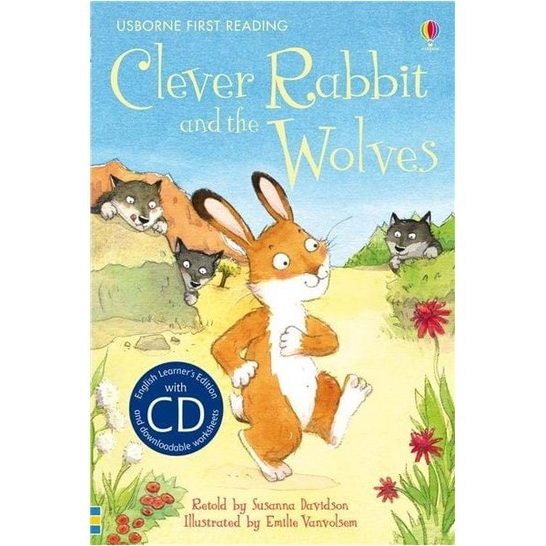 Usborne Clever Rabbit and the Wolves + CD