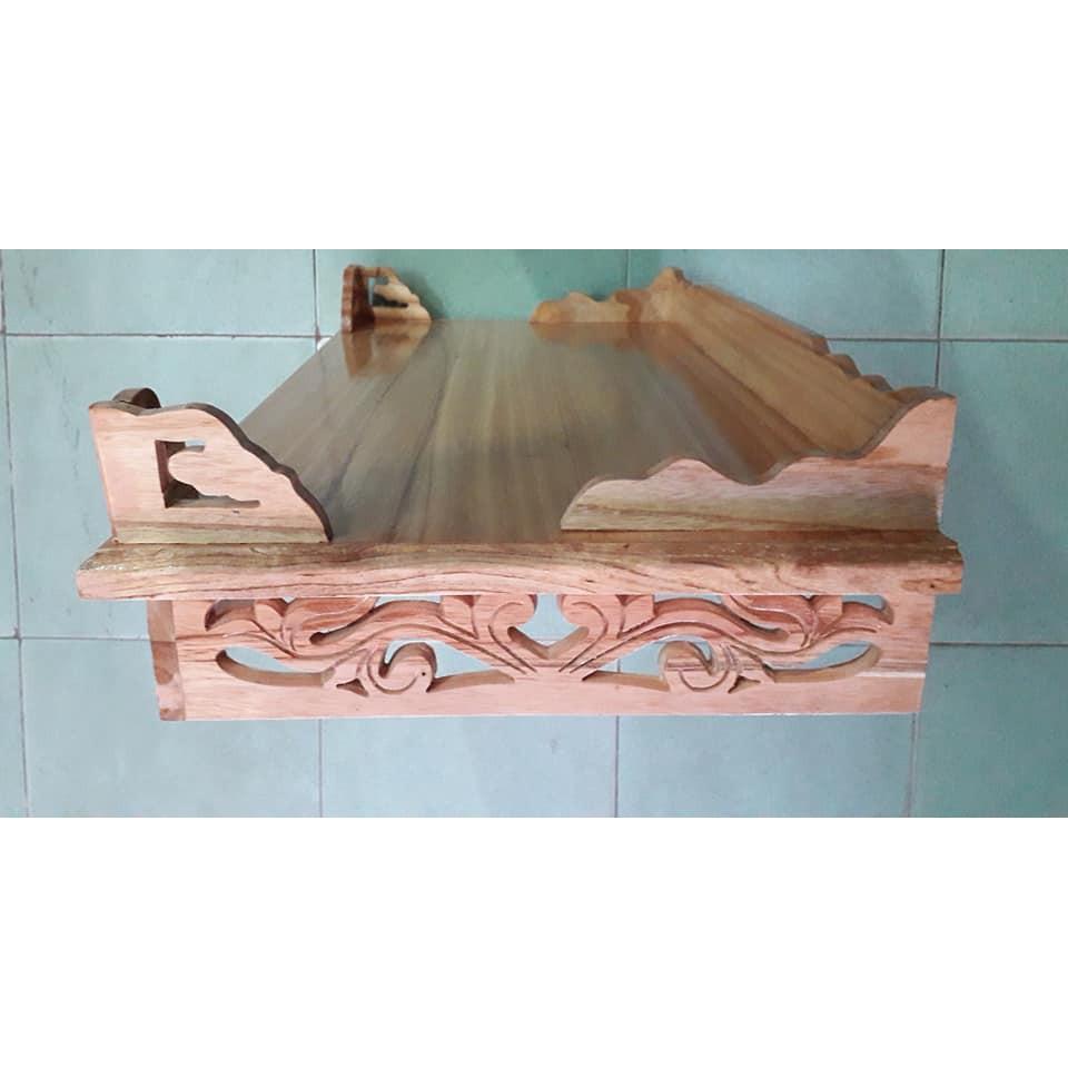 Bàn thờ treo tường hoa sen 50cm TTX50ST