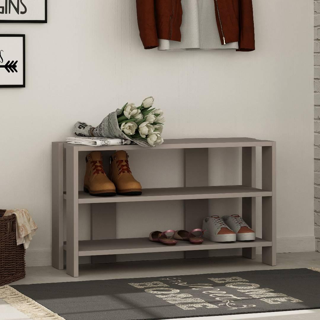 Kệ gỗ để giày hiện đại SMLIFE Riley