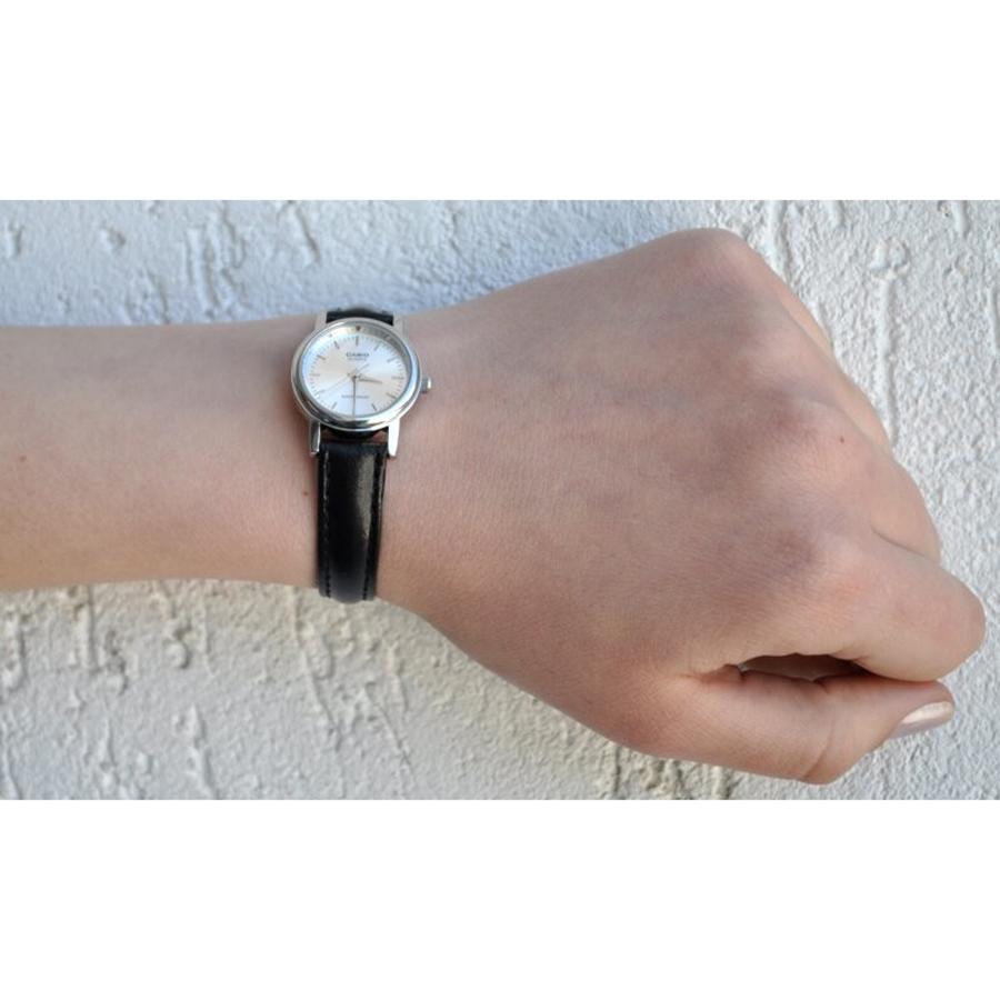 Đồng hồ nữ dây da Casio LTP-1095E-7ADF