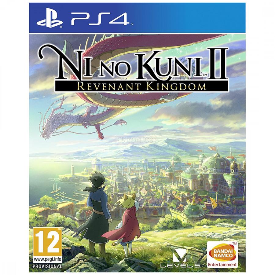 Đĩa Game Ps4: Nino Kuni II: Revenant Kingdom - Hàng nhập khẩu