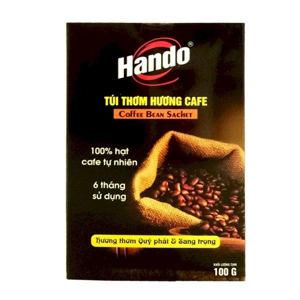 Túi thơm treo xe ô tô hương Cafe nguyên chất Hando 100g
