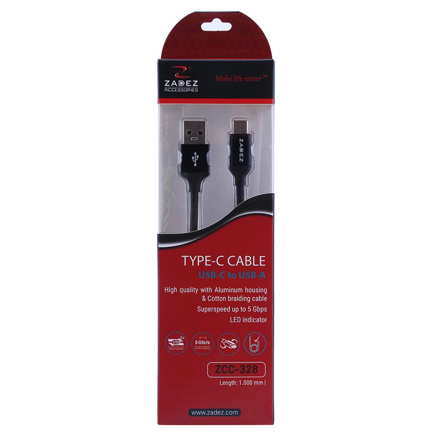 Cáp USB 3.0 To Type C Zadez ZCC-328 (1m) - Hàng Chính Hãng