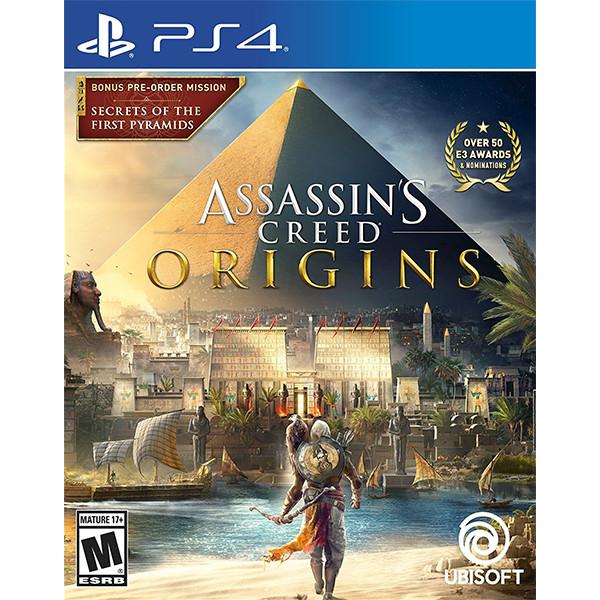 Đĩa game PS4 Assassin's Creed Origins - Hàng Nhập Khẩu
