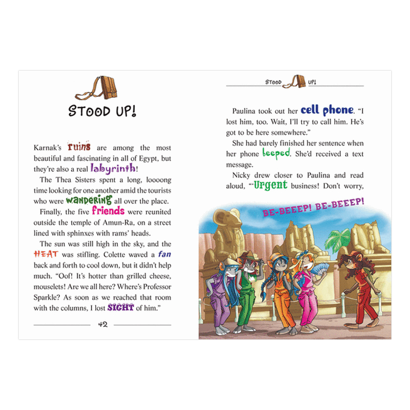 Thea Stilton Book 11: Thea Stilton And The Blue Scarab Hunt