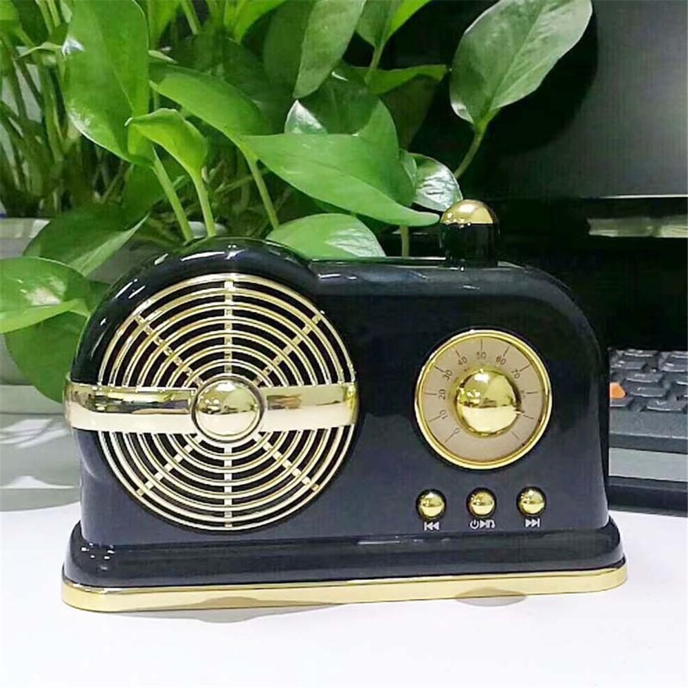 Loa Bluetooth Phong Cách Đài Radio Cổ Điển