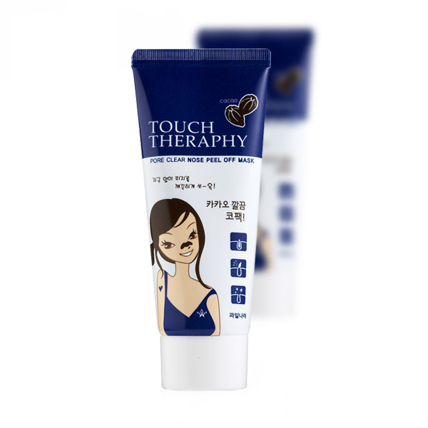 Gel lột mụn mũi Welcos touch therapy cacao pore clear nose pack 60ml
