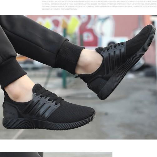 Giày Thể Thao Nam S901 Đen Ranano