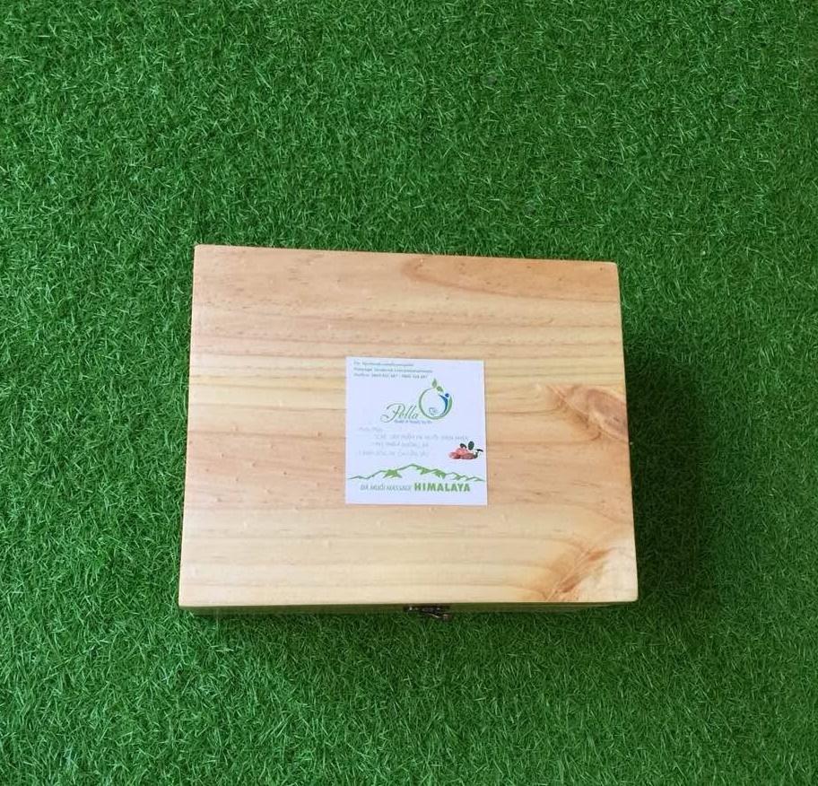 Đá muối Massage chân - Cải thiện sức khỏe, thư giãn tinh thần (20x20 cm)