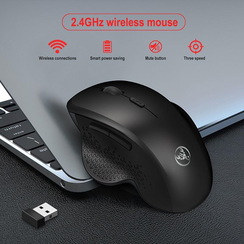 Chuột Không Dây T68 - chống ồn , chống mỏi cổ tay - hàng nhập khẩu